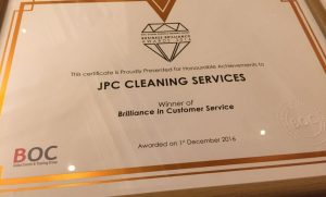 JPC Cleaning Shine Once Again