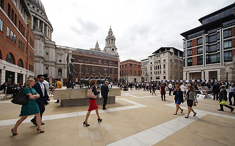 Broadgate Estates award Paternoster Square cleaning to JPC