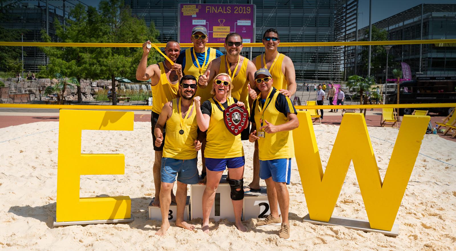 JPC Beach Volley Ball winners