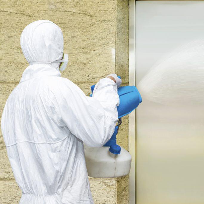 JPC office lift checmical clean