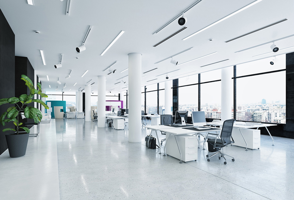 Beautifully clean offices from JPC